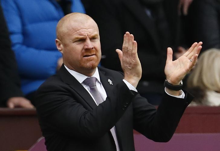Britain Soccer Football - Burnley v Tottenham Hotspur - Premier League - Turf Moor - 1/4/17 Burnley manager Sean Dyche  Action Images via Reuters / Jason Cairnduff Livepic