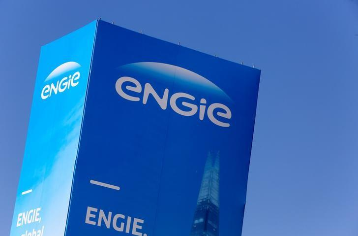 The logo of French gas and power group Engie is seen at the CRIGEN, the Engie Group research and operational expertise center, in Saint-Denis near Paris, France,  Saint-Denis, France, February 29, 2016. REUTERS/Jacky Naegelen/File Photo