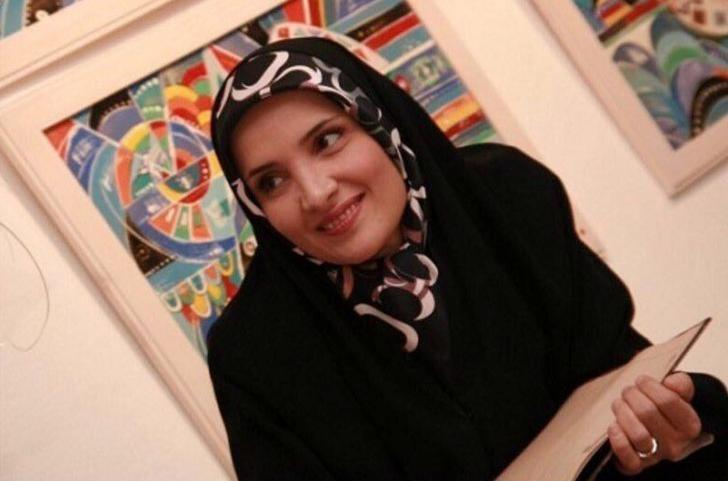 Hengameh Shahidi, a political prisoner who was arrested in early March, is seen in this undated handout photo said to be taken in Tehran, Iran. Hengameh Shahidi's family/Handout via REUTERS