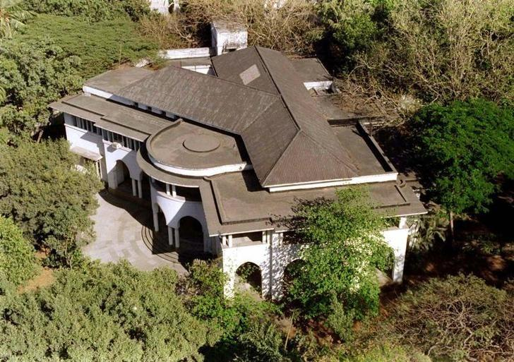 An aerial view of Jinnah House, the Mumbai home of Muhammad Ali Jinnah, the founder of Pakistan. Reuters/Files