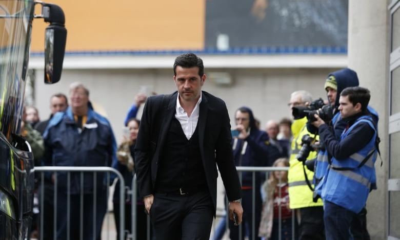 Britain Soccer Football - Hull City v West Ham United - Premier League - The Kingston Communications Stadium - 1/4/17 Hull City manager Marco Silva arrives for the match Action Images via Reuters / Ed Sykes Livepic