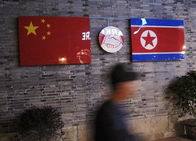 4月4日、米戦略軍のジョン・ハイテン司令官は、北朝鮮問題への対応には中国の関与が必要だとの認識を示した。中国で昨年4月撮影(2017年 ロイター/Joseph Campbell)