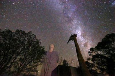 Solitary life in Australia's Outback