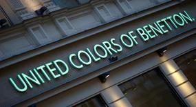 Benetton a annoncé mercredi la nomination d'un nouveau dirigeant afin de relancer la marque de prêt-à-porter, soumise à rude épreuve avec la concurrence du suédois H&M et de l'espagnol Zara. /Photo d'archives/REUTERS/Leonhard Foeger
