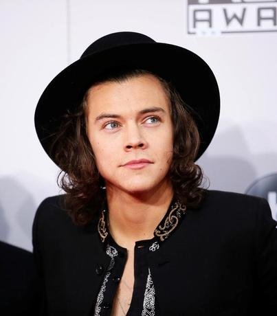 FILE PHOTO: Harry Styles of One Direction arrives at the 42nd American Music Awards in Los Angeles, California November 23, 2014.  REUTERS/Danny Moloshok/File Photo