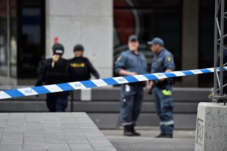 People killed in incident when a truck was driven Friday April 7 2017 into a department store in central Stockholm, Sweden April 7, 2017. TT News Agency/Noella Johansson/via REUTERS