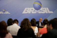Meirelles concede entrevista em Brasília 7/4/2017     REUTERS/Ueslei Marcelino