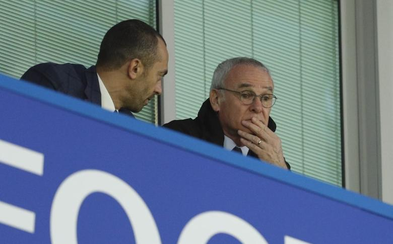 Britain Soccer Football - Chelsea v Manchester City - Premier League - Stamford Bridge - 5/4/17 Former Leicester City and Chelsea manager Claudio Ranieri in the stands Action Images via Reuters / John Sibley Livepic