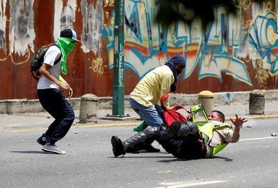 Venezuela opposition on the streets