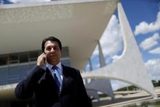 Relator da reforma da Previdência, deputado Arthur Maia (PPS-BA), no Palácio do Planalto. 11/04/2017 REUTERS/Ueslei Marcelino