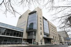 The John Sopinka Courthouse, where Karim Baratov appeared in front of a judge, in connection with a U.S. Justice Department investigation into the 2014 hacking of Yahoo, is pictured in Hamilton, Ontario, Canada March 15, 2017 . REUTERS/Peter Power