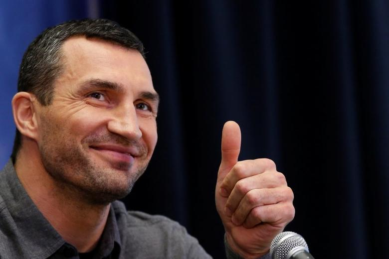 Boxer Wladimir Klitschko attends a news conference at Madison Square Garden in New York City, U.S., January 31, 2017. REUTERS/Brendan McDermid/Files