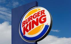 The logo of U.S. fast food group Burger King is seen at a restaurant in Bruettisellen, Switzerland October 11, 2016.  REUTERS/Arnd Wiegmann
