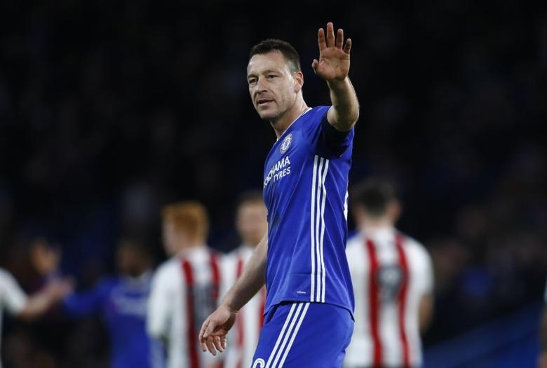 Britain Football Soccer - Chelsea v Brentford - FA Cup Fourth Round - Stamford Bridge - 28/1/17 Chelsea's John Terry after the match   Reuters / Eddie Keogh Livepic