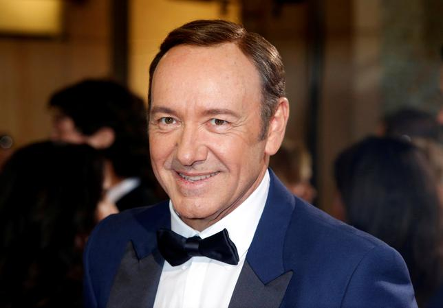 Actor and presenter Kevin Spacey arrives at the 86th Academy Awards in Hollywood, California March 2, 2014.   REUTERS/Adrees Latif/File Photo