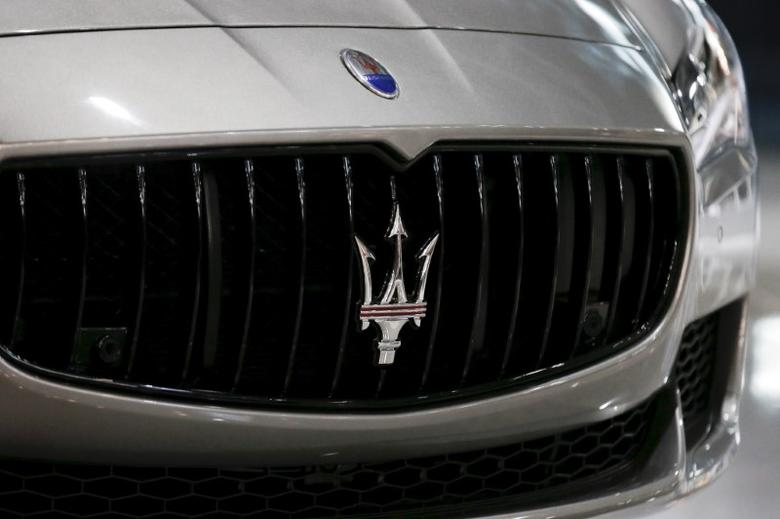 The Maserati Levante SUV is seen during the 2016 New York International Auto Show media preview in Manhattan, New York March 23, 2016.   REUTERS/Brendan McDermid