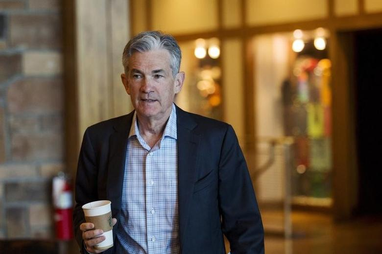 Federal Reserve Governor Jerome Powell attends the Federal Reserve Bank of Kansas City's annual Jackson Hole Economic Policy Symposium in Jackson Hole, Wyoming August 28, 2015. REUTERS/Jonathan Crosby