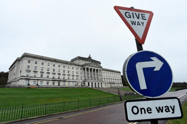 A general view of Parliament Buildings at Stormont in Belfast, Northern Ireland March 7, 2017. REUTERS/Clodagh Kilcoyne