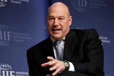National Economic Council Director Gary Cohn speaks at 2017 Institute of International Finance (IIF) policy summit in Washington, U.S., April 20, 2017. REUTERS/Yuri Gripas