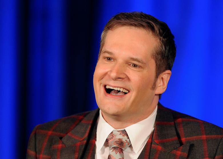 FILE PHOTO: ''Hannibal'' executive producer Bryan Fuller takes part in a panel discussion at the NBC portion of the 2014 Winter Press Tour for the Television Critics Association (TCA) in Pasadena, California, January 19, 2014. REUTERS/Gus Ruelas/File Photo