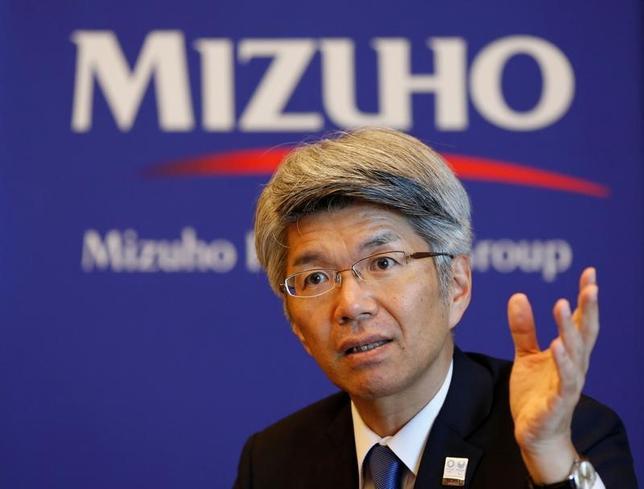 4月25日、みずほ銀行頭取に就任した藤原弘治氏が、ロイターのインタビューに応じた。写真は都内で19日撮影(2017年 ロイター/Toru Hanai)