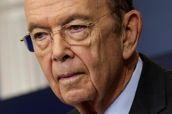 U.S. Commerce Secretary Wilbur Ross speaks about new tariffs on Canadian softwood lumber from the White House in Washington, U.S. April 25, 2017.REUTERS/Yuri Gripas