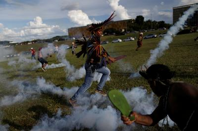 Indigenous protest turns violent in Brazil