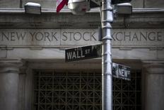 Bolsa de Ações de Nova York no distrito financeiro de Nova York, nos Estados Unidos  04/02/2014 REUTERS/Brendan McDermid