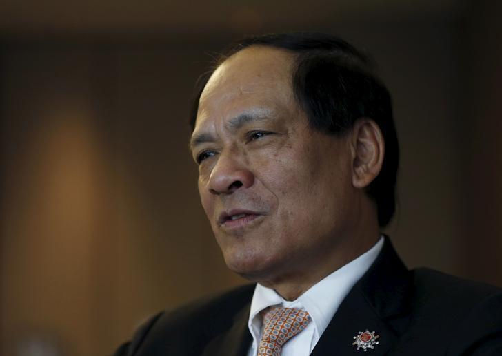 ASEAN secretary-general Le Luong Minh looks on during an interview with Reuters ahead of the summit in Kuala Lumpur, Malaysia, April 26, 2015. REUTERS/Olivia Harris/Files