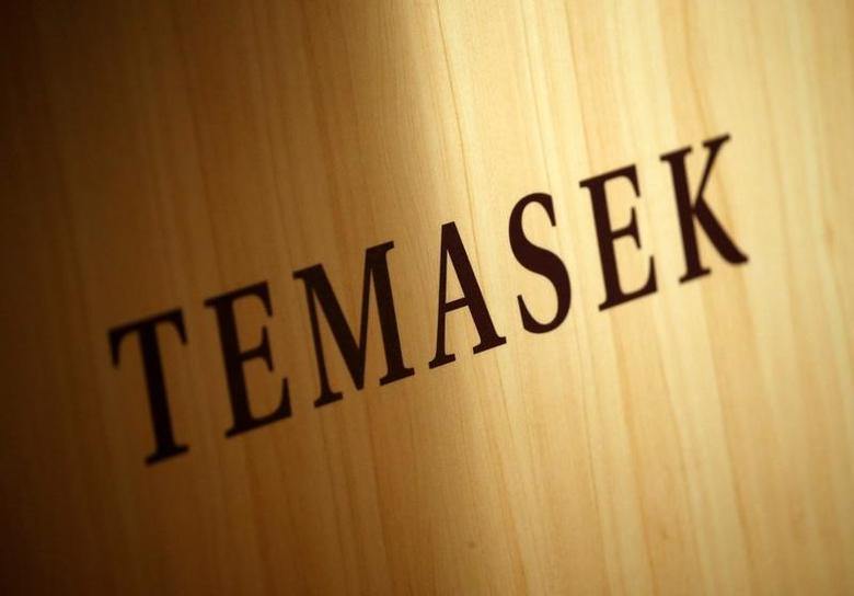 A Temasek logo is seen at the annual Temasek Review in Singapore July 7, 2016. REUTERS/Edgar Su