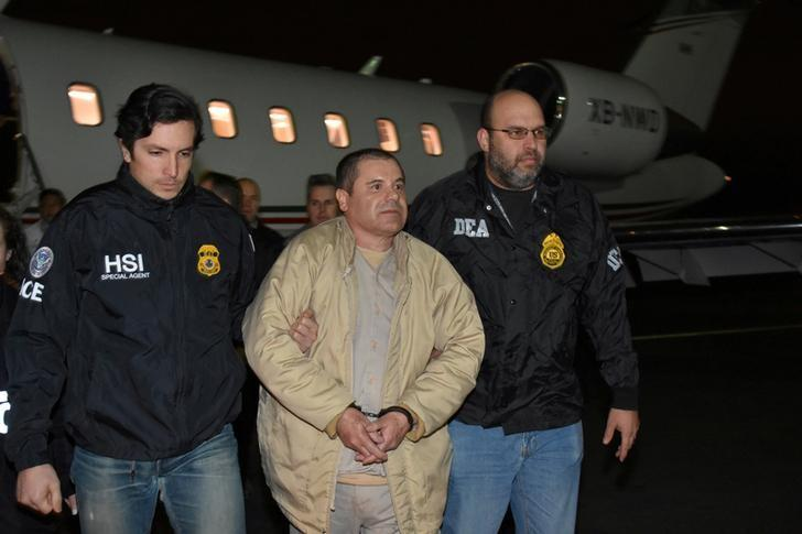 U S  has not found 'one dollar' of drug lord El Chapo's