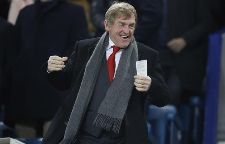 Britain Football Soccer - Everton v Liverpool - Premier League - Goodison Park - 19/12/16 Former Liverpool manager Kenny Dalglish before the match Reuters / Phil Noble Livepic