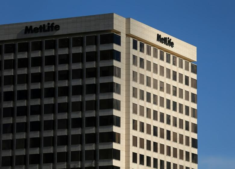 FILE PHOTO: A MetLife Inc  building is shown in Irvine, California, U.S., January 24, 2017.   REUTERS/Mike Blake