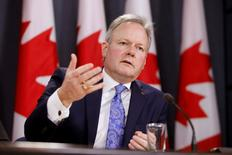FILE PHOTO --  Bank of Canada Governor Stephen Poloz speaks during a news conference in Ottawa, Ontario, Canada, January 18, 2017. REUTERS/Chris Wattie/File Photo