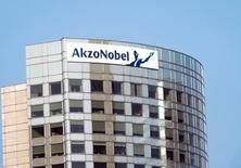FILE PHOTO: A view of AkzoNobel's headquarters in Amsterdam, February 6, 2014. REUTERS/Toussaint Kluiters/United Photos/File Photo