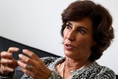 Maria Silvia Bastos Marques em entrevista à Reuters 22 de novembro de 2016 REUTERS/Sergio Moraes