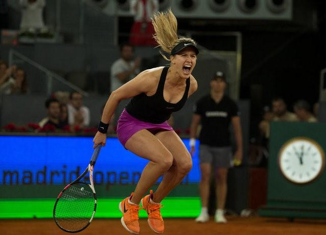 Bouchard claims victory over Sharapova in thriller