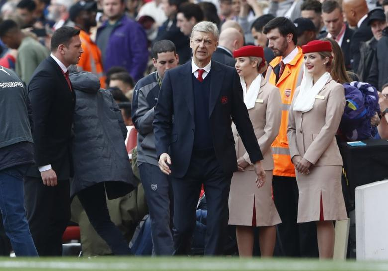 Britain Soccer Football - Arsenal v Manchester United - Premier League - Emirates Stadium - 7/5/17 Arsenal manager Arsene Wenger before the match  Reuters / Stefan Wermuth Livepic