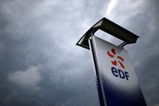 EDF a publié mardi un chiffre d'affaires en repli de 1,5% au titre du premier trimestre 2017, pénalisé par ses activités au Royaume-Uni et en Italie, et a confirmé l'ensemble de ses objectifs. /Photo d'archives/REUTERS/Stéphane Mahé