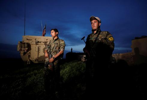 Kurdish YPG fighters of Syria