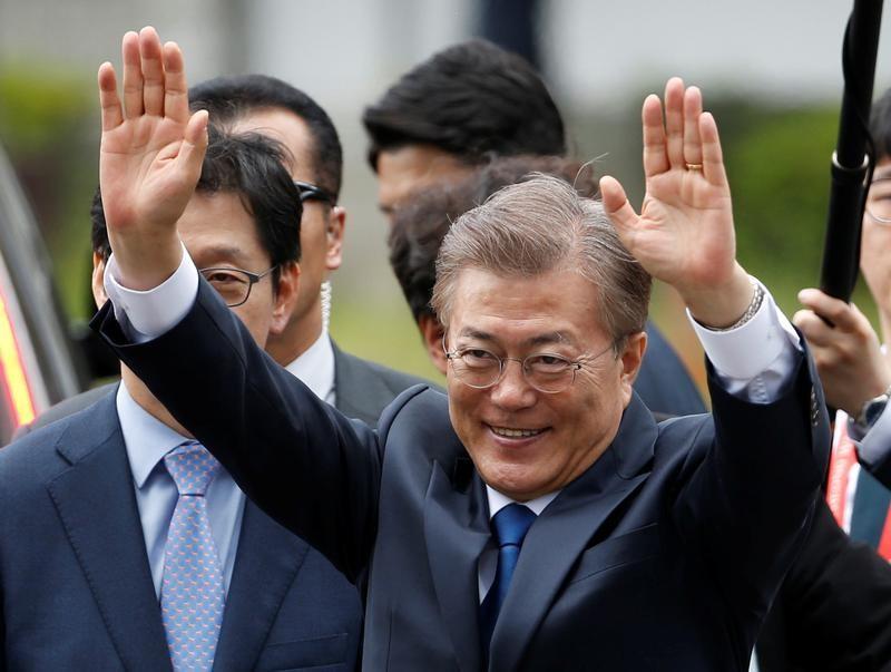 South Korea's Moon names inter-Korean talks veteran as spy