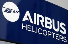 Airbus Helicopters ne voit pas les commandes des pétroliers repartir immédiatement et estime que les signes de reprise du marché restent fragiles, déclare le PDG de la filiale hélicoptères d'Airbus dans les Echos. /Photo d'archives/REUTERS/Michaela Rehle
