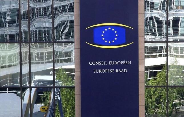 5月10日、欧州連合(EU)の欧州委員会(写真)は、独占禁止法違反をめぐる電子商取引事業者への2年におよぶ調査の結果を公表し、競争を阻害する行為が見つかったとして調査を拡大する方針を明らかにした。2012年10月撮影(2017年 ロイター/Yves Herman)