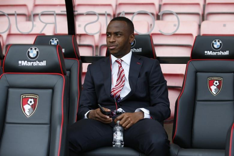 Britain Soccer Football - AFC Bournemouth v Stoke City - Premier League - Vitality Stadium - 6/5/17 Stoke City's Saido Berahino before the match  Action Images via Reuters / Andrew Couldridge Livepic