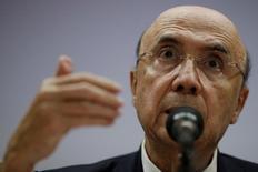 Ministro da Fazenda, Henrique Meirelles 29/03/2017 REUTERS/Ueslei Marcelino