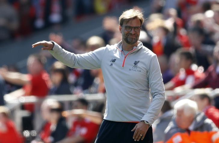 Britain Soccer Football - Liverpool v Southampton - Premier League - Anfield - 7/5/17 Liverpool manager Juergen Klopp  Action Images via Reuters / Carl Recine Livepic