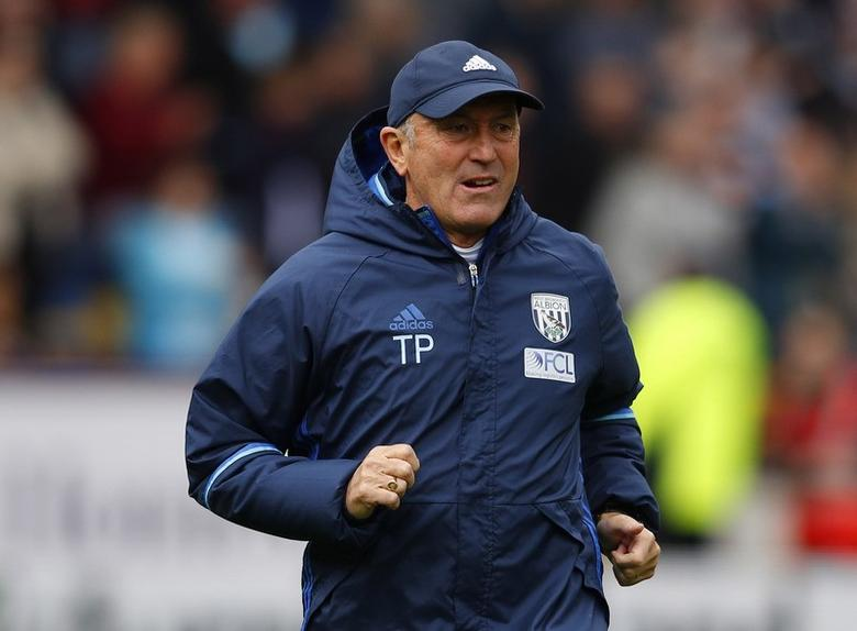 Britain Soccer Football - Burnley v West Bromwich Albion - Premier League - Turf Moor - 6/5/17 West Bromwich Albion manager Tony Pulis before the match  Reuters / Phil Noble Livepic