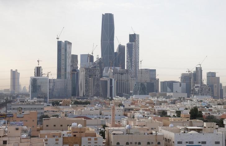 View shows the King Abdullah Financial District, north of Riyadh, Saudi Arabia, March 1, 2017. REUTERS/Faisal Al Nasser