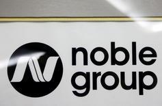 Logo do Grupo Noble é visto em evento em Cingapura. 17/08/2015 REUTERS/Edgar Su