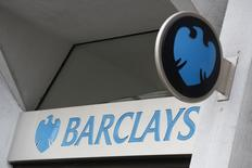 FILE PHOTO: A Barclays sign is seen outside a branch of the bank in London, Britain, February 23, 2017.   REUTERS/Stefan Wermuth